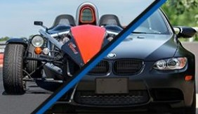 Ariel Atom kontra BMW BiTurbo Performance