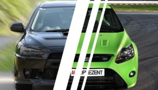 Mitsubishi Lancer kontra Ford Focus RS