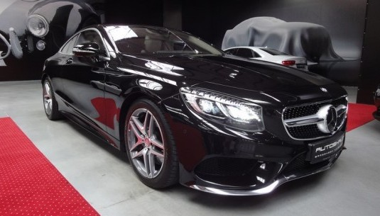 Jazda Mercedes S500 Coupe