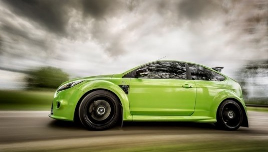 Jazda Ford Focus RS