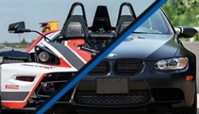 KTM X-BOW kontra BMW BiTurbo Performance